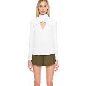 NWT C/MEO Collective Haunting Feelings White Top